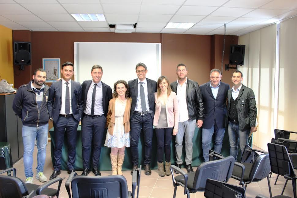 Consegna Dei Diplomi Ai Collaboratori Del Secondo Corso Della Calabria