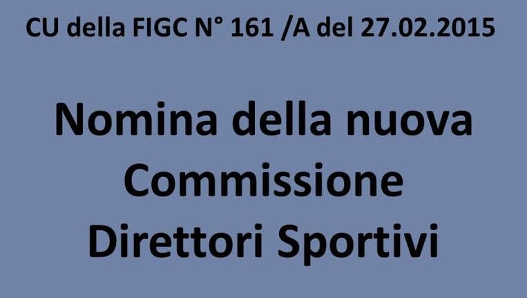 La Nuova Commissione Direttori Sportivi Della FIGC