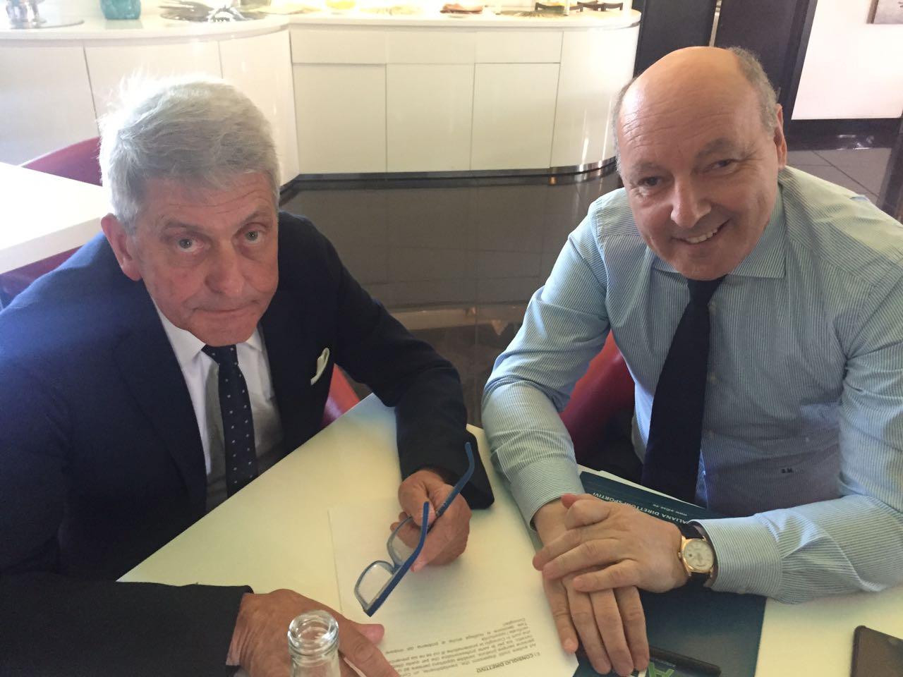 Riunione Operativa A Milano Fra Il Presidente Marotta E I Vicepresidenti Molinari E Galasso