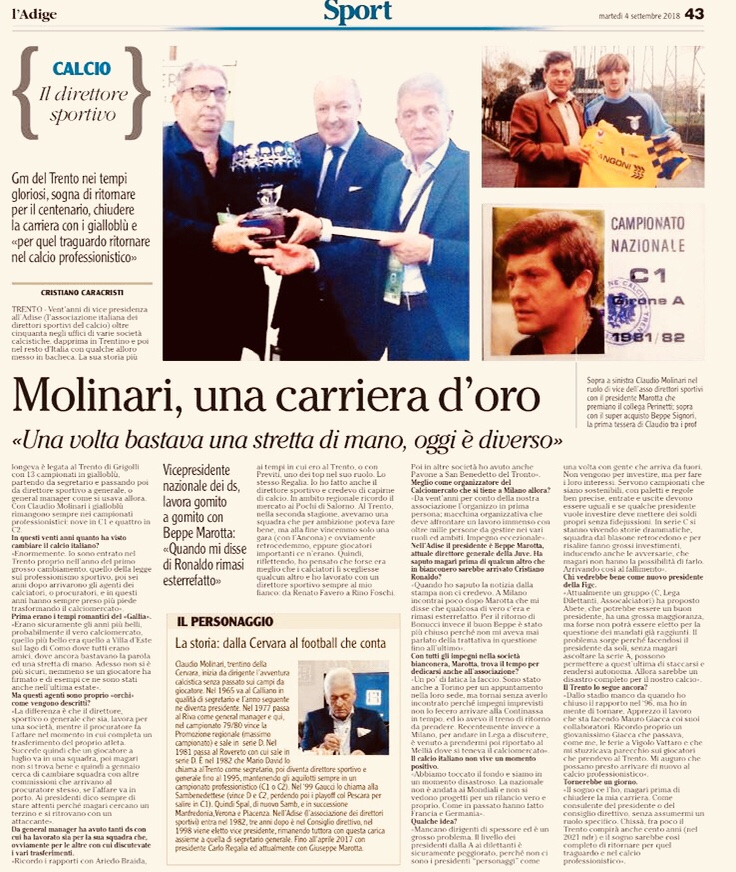 Intervista A Claudio Molinari