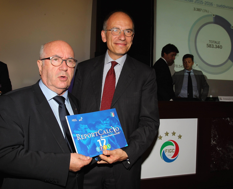 """Presentata La Settima Edizione Del """"ReportCalcio"""": Tutti I Numeri Della Stagione 2015-2016"""