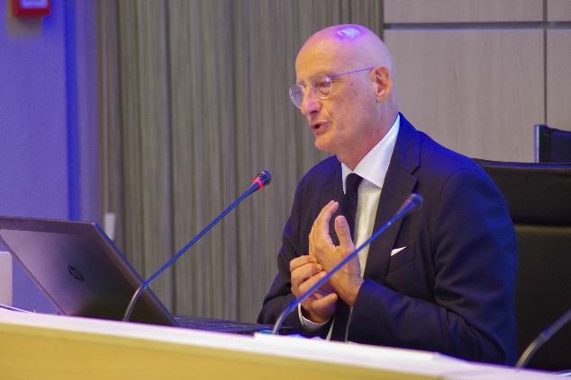 Claudio Garzelli Al Corso Per Manager Sportivi Della Federazione Israeliana
