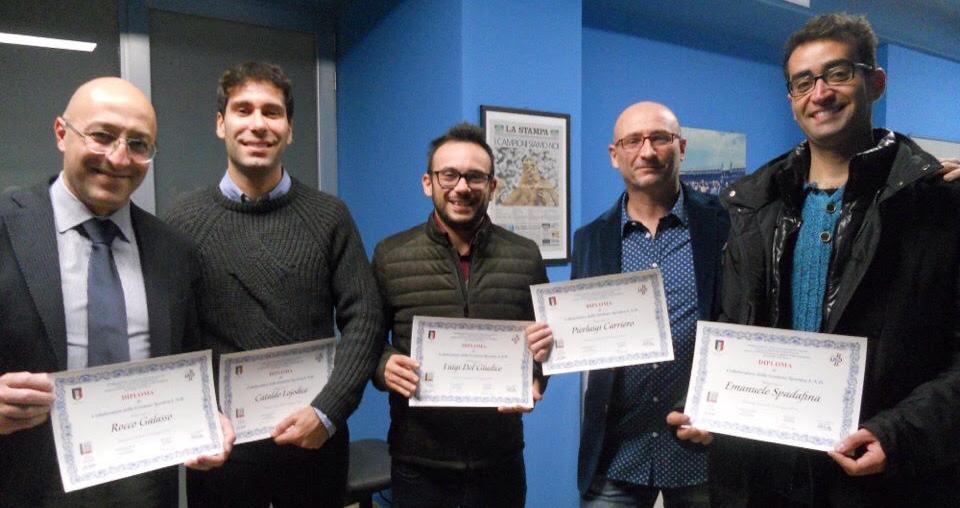 Corso Collaboratori Della Gestione Sportiva, Il Presidente LND Basilicata Pietro Rinaldi Incorona Le Nuove Leve