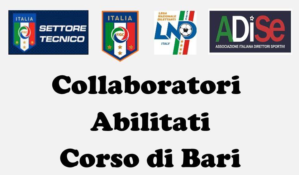 I Collaboratori Abilitati Al Corso Del Comitato Regionale Puglia