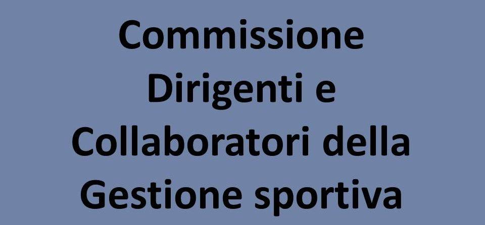 Nomina Di Giuseppe Magalini Nella Commissione Dirigenti E Collaboratori Sportivi