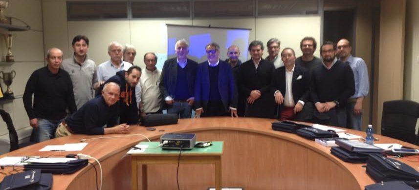 Consegna Dei Diplomi Di Collaboratore Del Corso Del Comitato Regionale Liguria