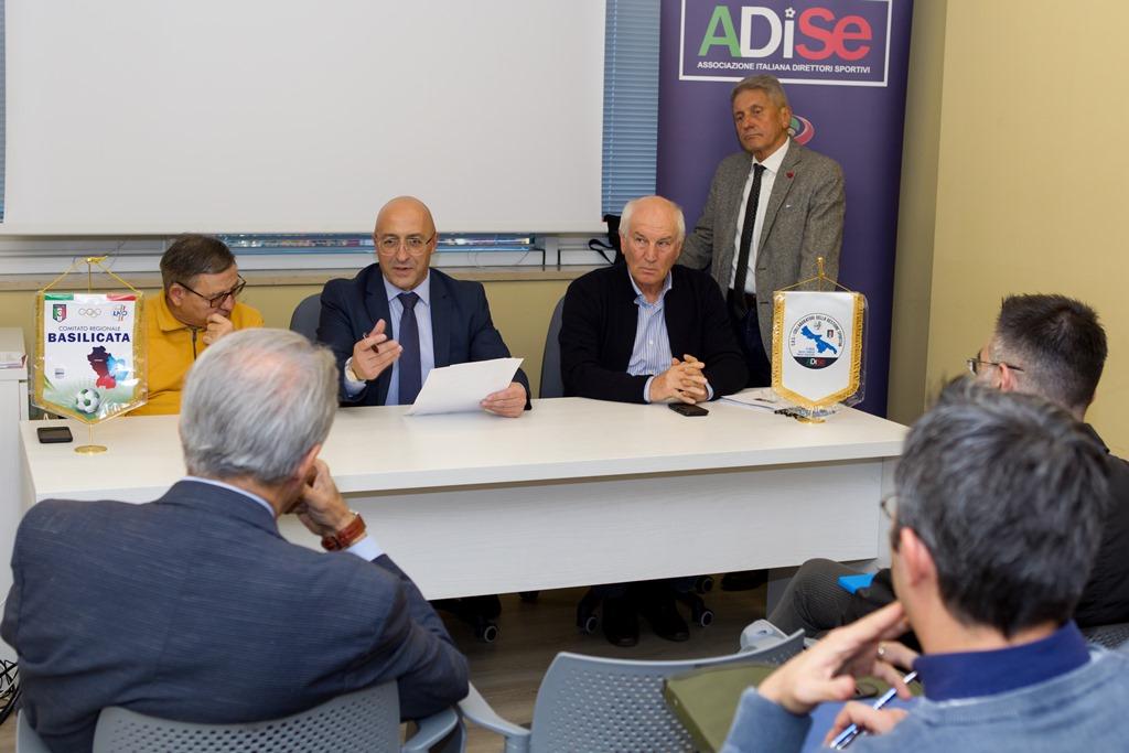 Ha Preso Il Via A Potenza Il Corso Per Collaboratori Della Gestione Sportiva