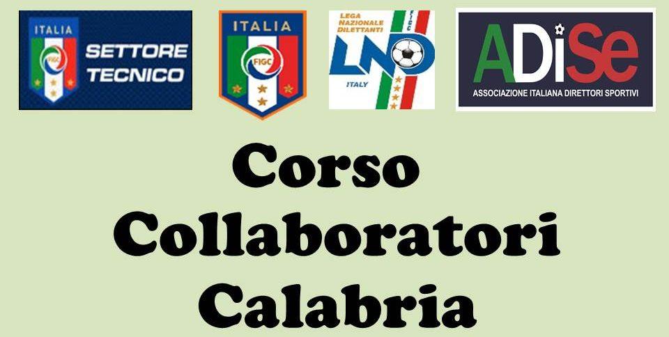 Bando Del Corso Per Collaboratori Della Gestione Sportiva Presso Il Comitato Regionale Calabria