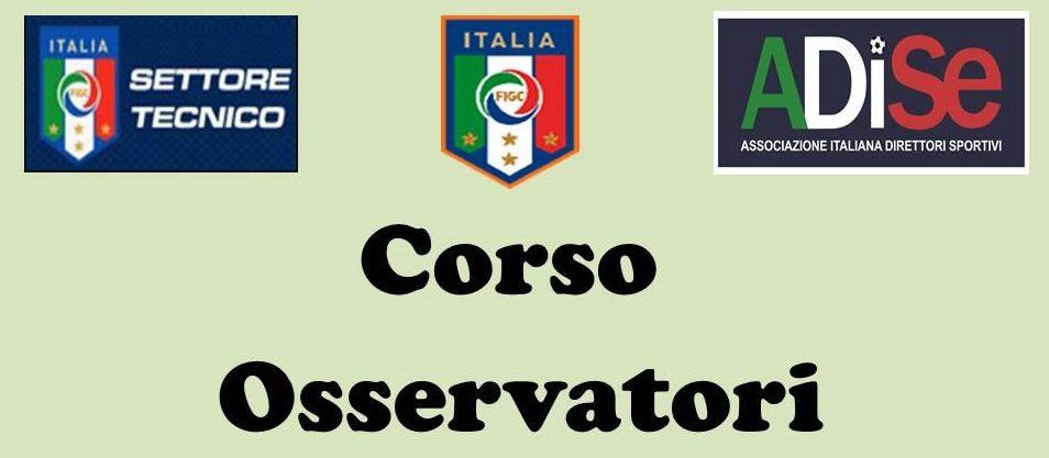 Secondo Corso Per Osservatori Di Calcio Per Società Professionistiche