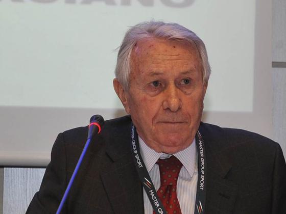 Il Presidente Carlo Regalia A Coverciano Durante Il Corso Per Direttore Sportivo