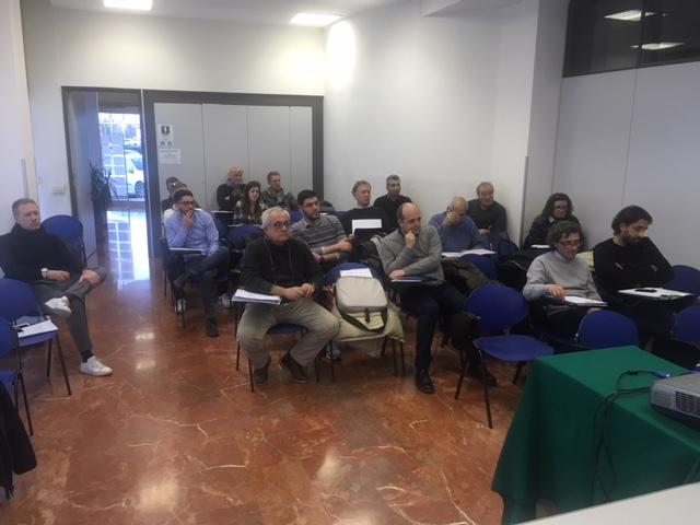 I Collaboratori Della Gestione Sportiva Abilitati Al Corso Di Pordenone