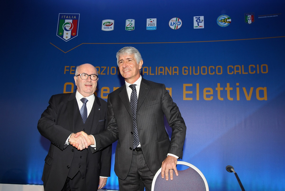 Carlo Tavecchio Rieletto Alla Presidenza Della FIGC