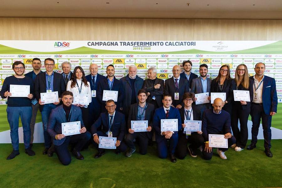 Il Presidente Marotta Consegna I Diplomi Agli Abilitati Collaboratori Della Gestione Sportiva Di Milano